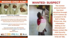 missing child prince leo from knh