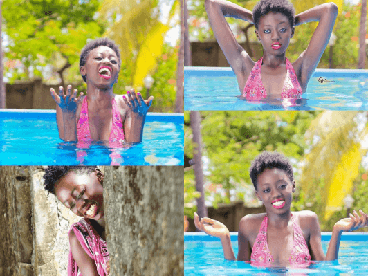 Akothee's daughter Rue