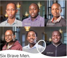 Brave men who lost their life in the Dusit attack