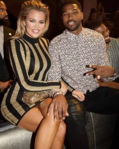 Tristan and Khloe in the past