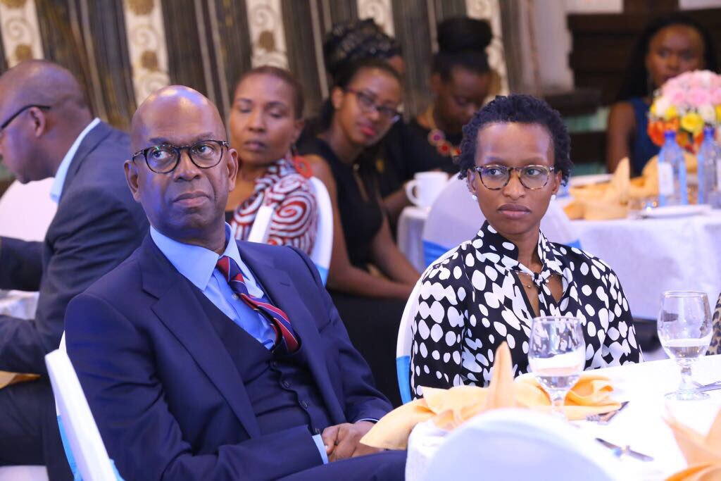 Bob-Collymore-with his wife Wambui 1