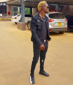 Willy Paul in black