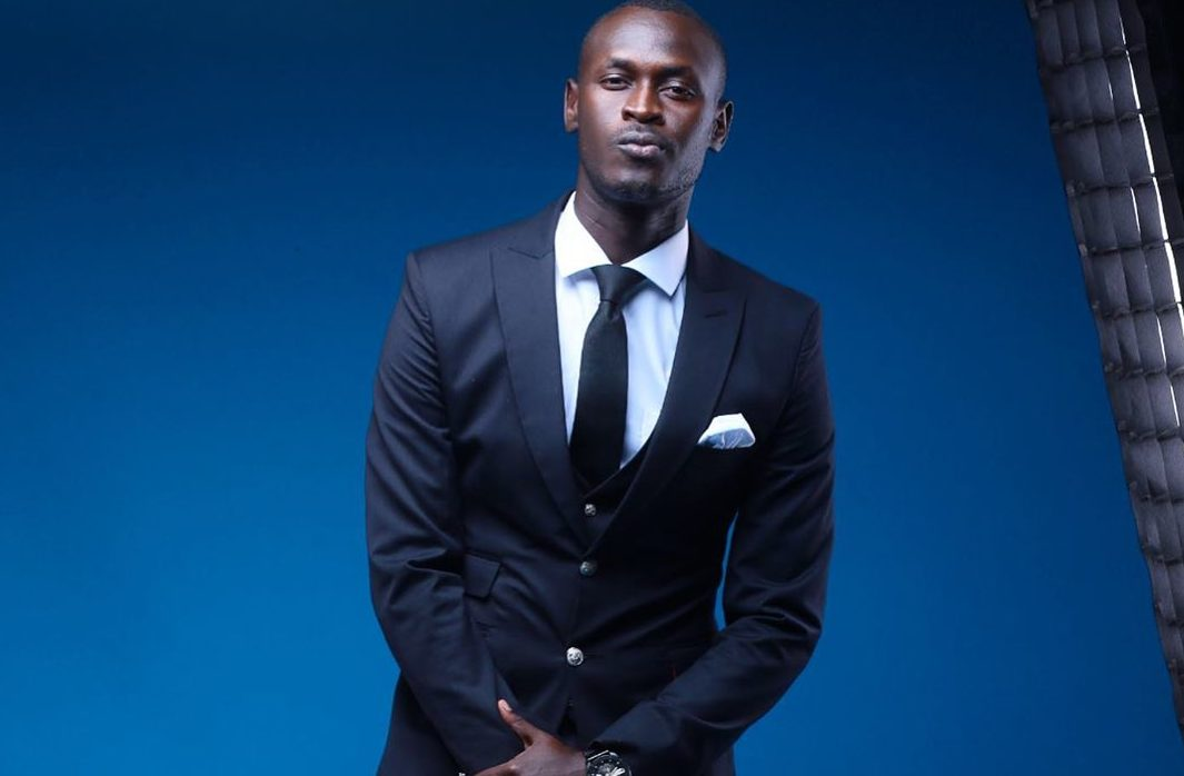 King Kaka in suit and tie