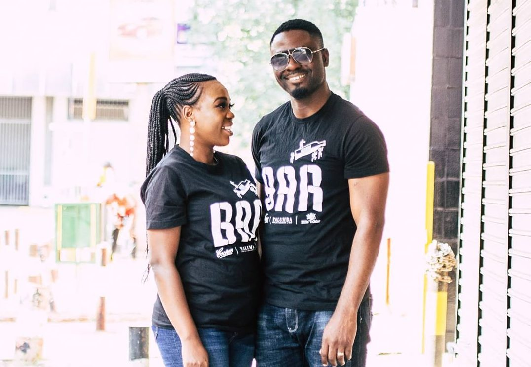 Ruth Matete with her husband