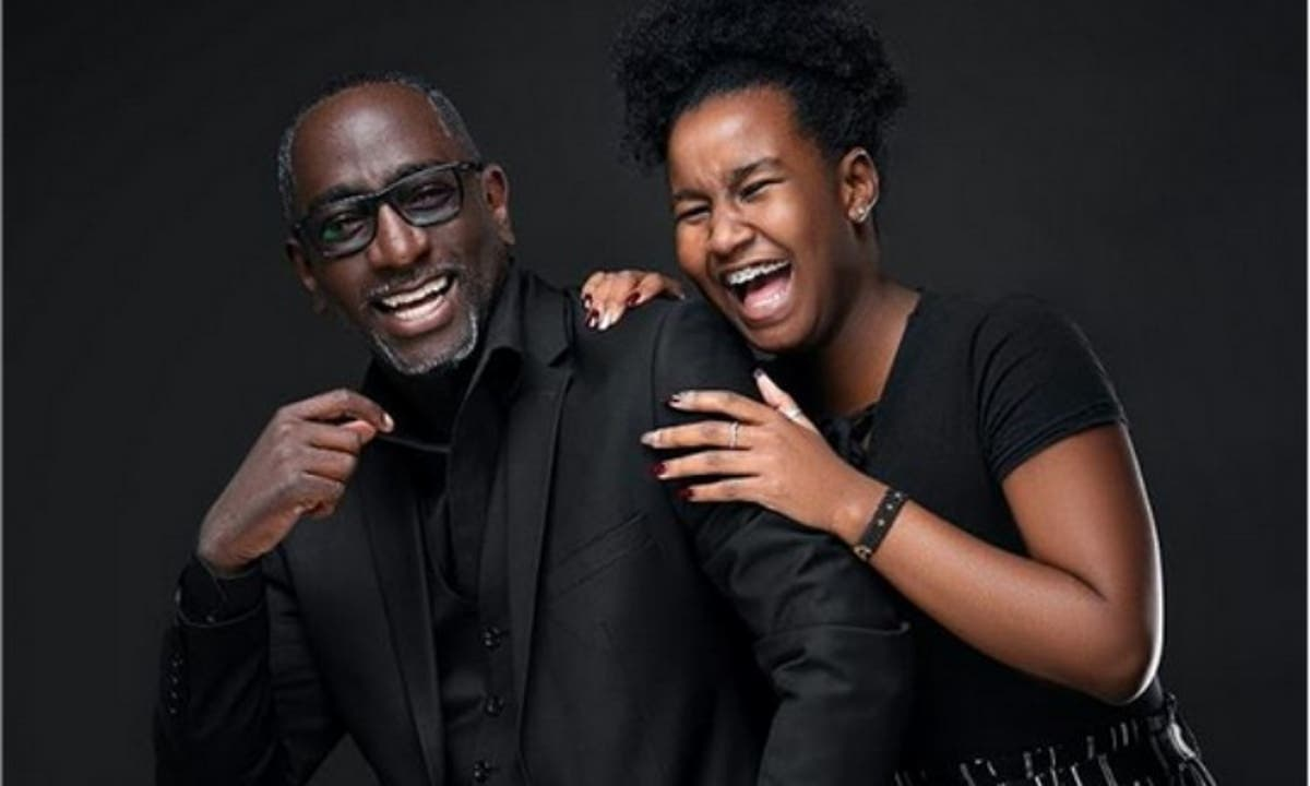 Robert Burale with his daughter Lexie