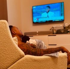 rotimi and baby